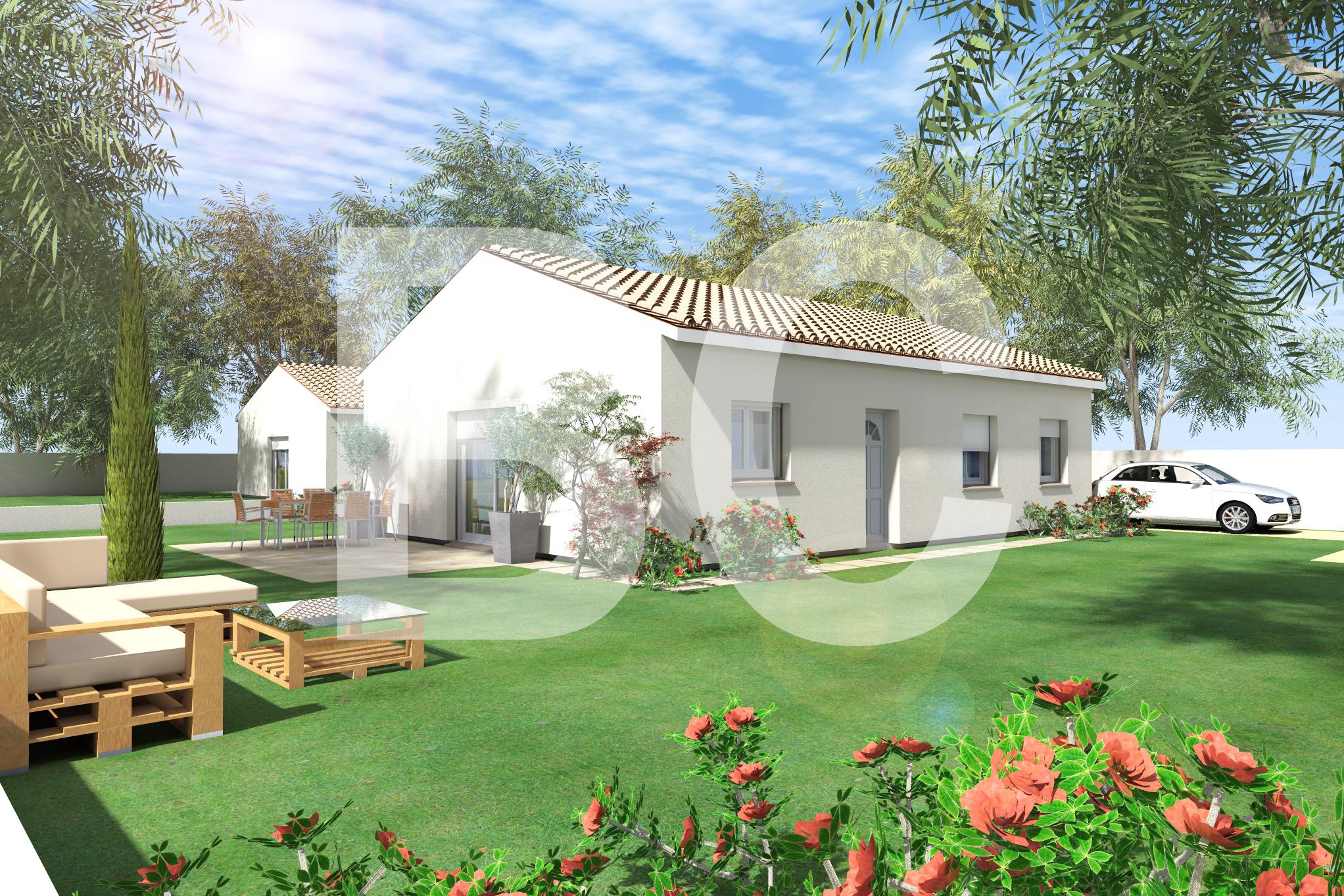 Maisons + Terrains du constructeur BATI CONCEPT 26/07 •  m² • AUBENAS