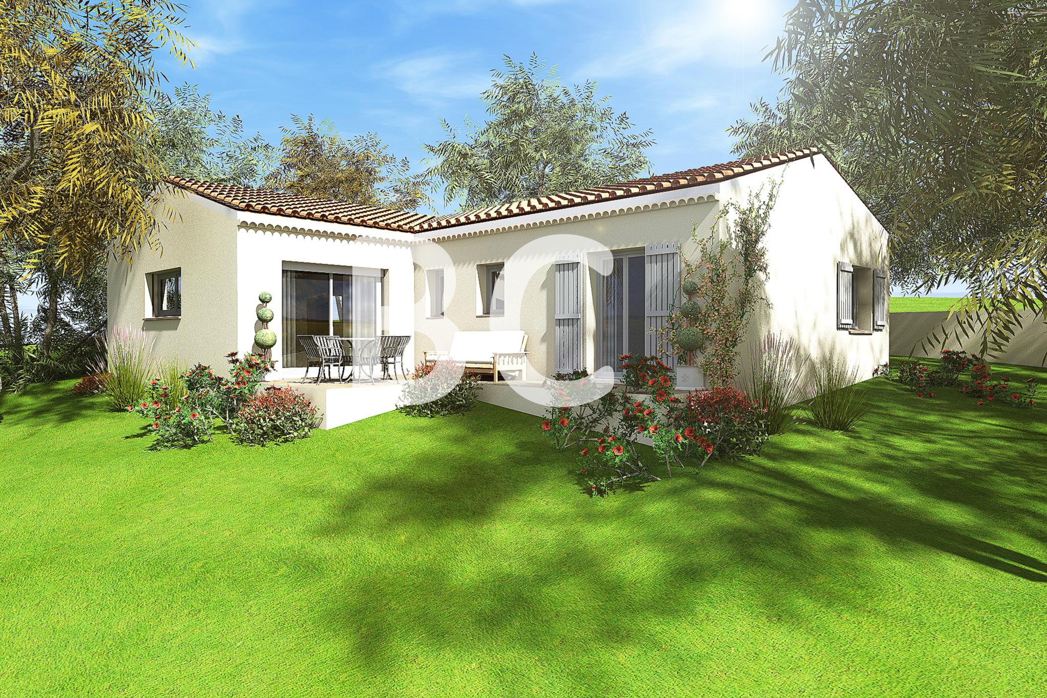 Maisons + Terrains du constructeur BATI CONCEPT 26/07 •  m² • VALLON PONT D'ARC