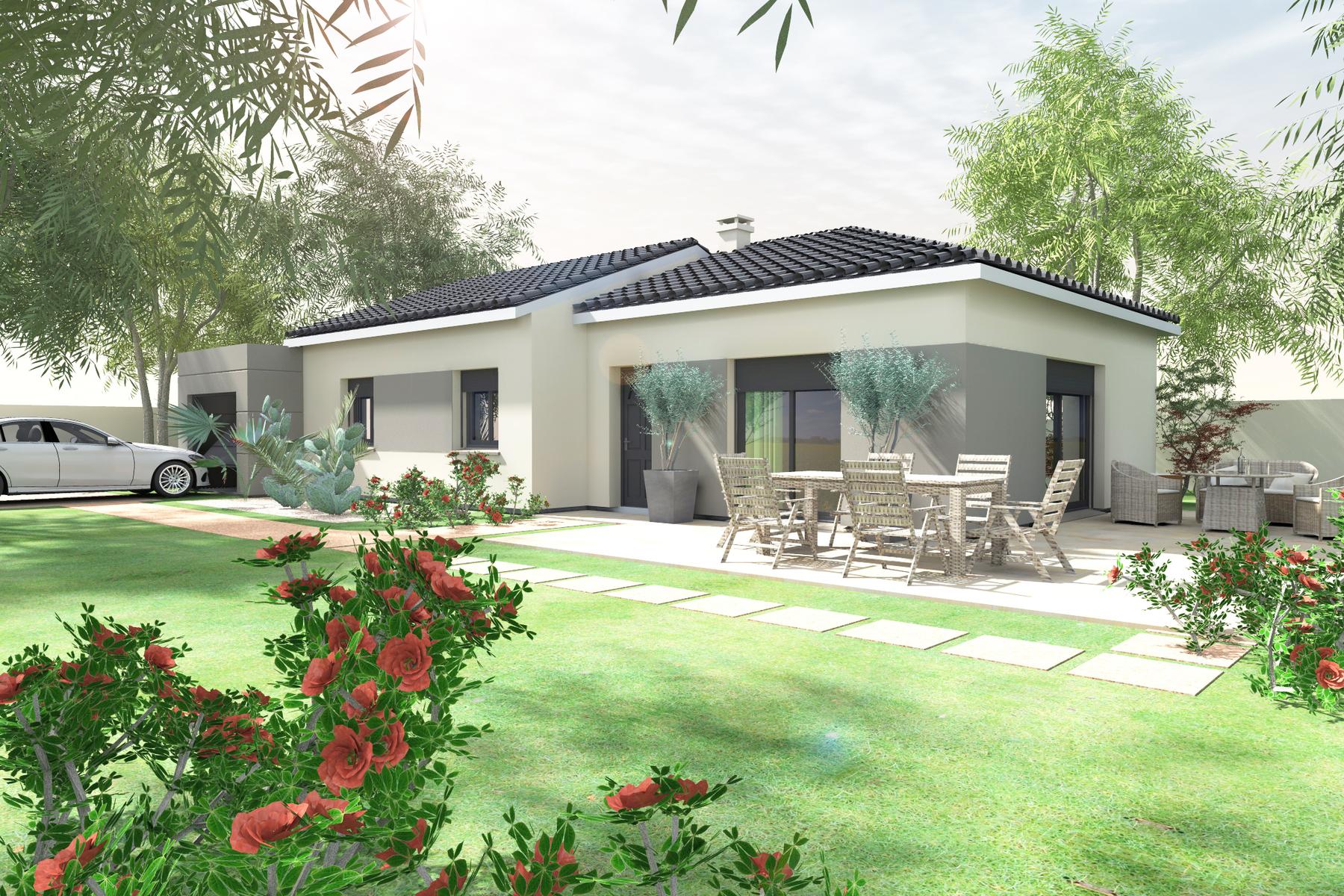 Maisons du constructeur BATI CONCEPT 26/07 • 91 m² • SAINT REMEZE