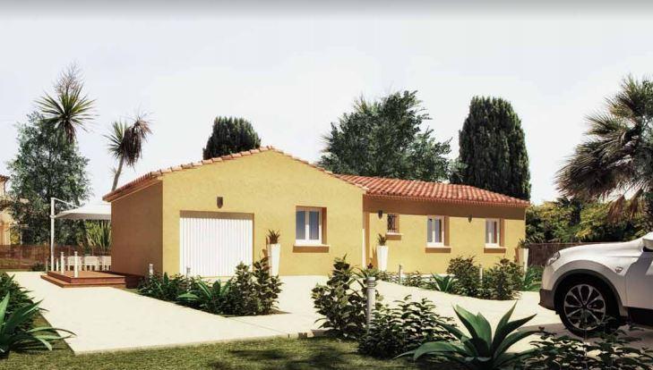 Maisons du constructeur MAISONS CEVI 26 • 85 m² • BEAUMONT MONTEUX