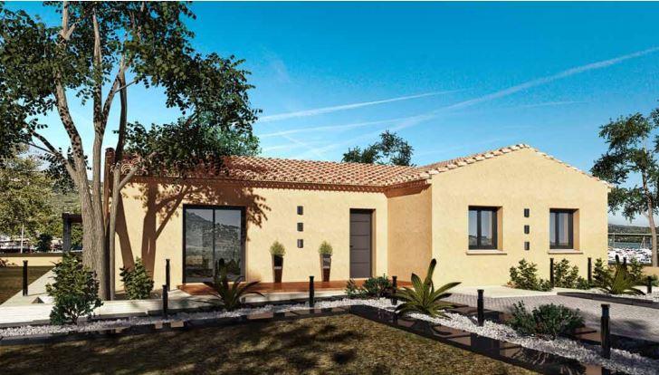 Maisons du constructeur MAISONS CEVI 26 • 100 m² • CHAVANNES