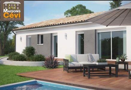 Maisons du constructeur MAISONS CEVI 26 • 90 m² • CHANTEMERLE LES BLES