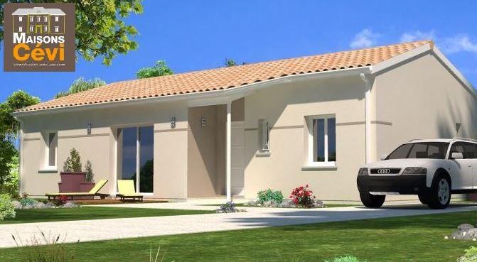 Maisons du constructeur MAISONS CEVI 26 • 90 m² • SAINT BARTHELEMY DE VALS