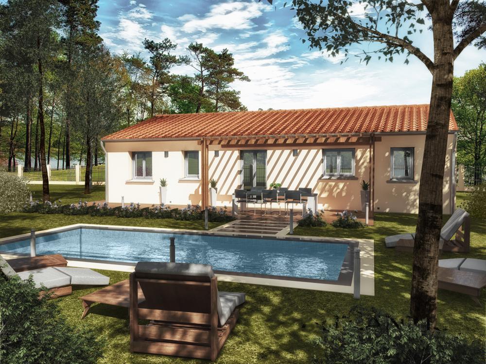 Maisons du constructeur MAISONS CEVI 26 • 90 m² • BEAUMONT MONTEUX