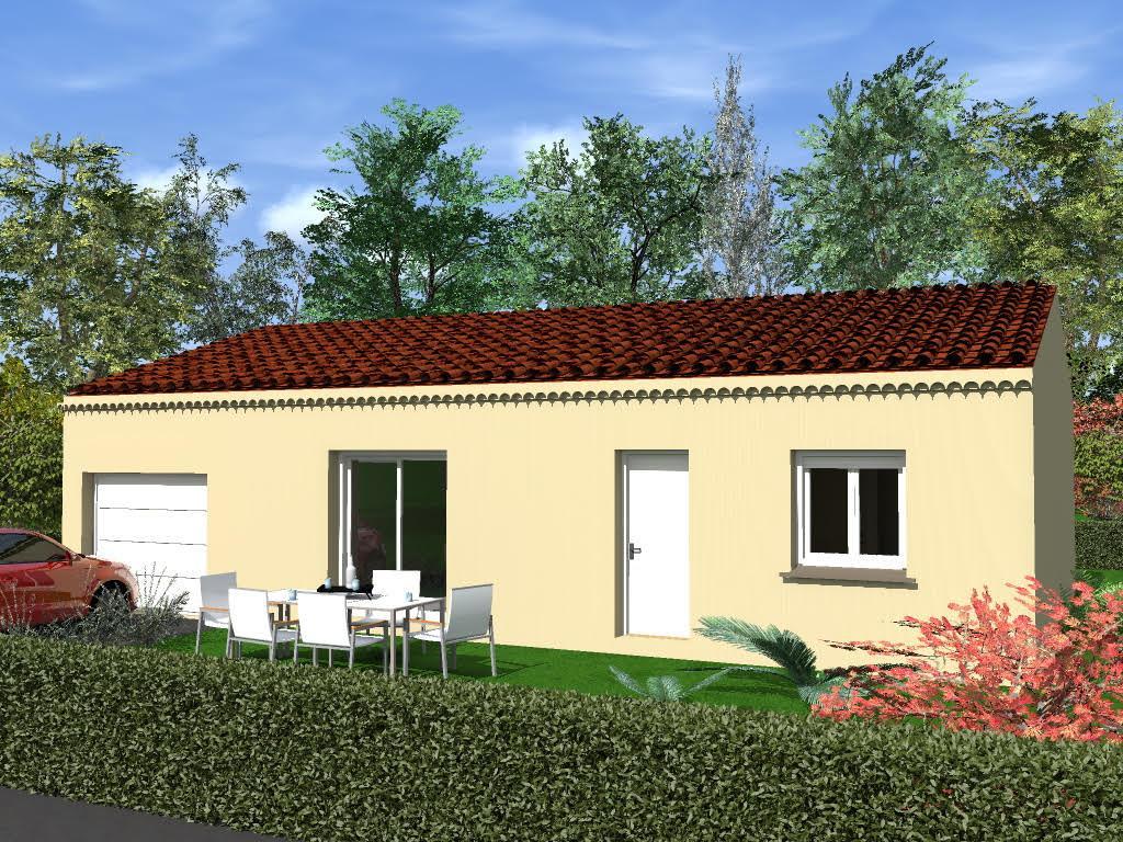Maisons du constructeur MAISONS CEVI 26 • 80 m² • BEAUMONT MONTEUX