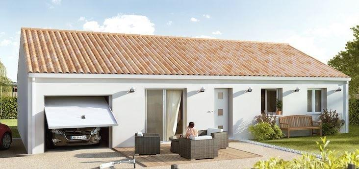 Maisons du constructeur MAISONS CEVI 26 • 100 m² • ROMANS SUR ISERE