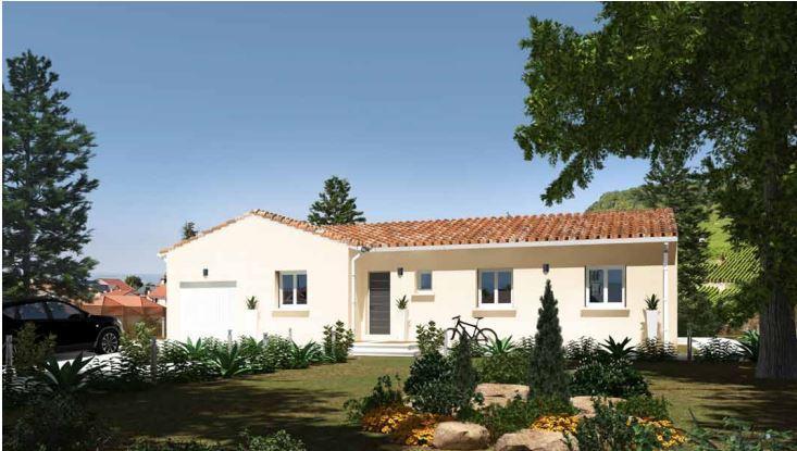 Maisons du constructeur MAISONS CEVI 26 • 102 m² • PIEGROS LA CLASTRE