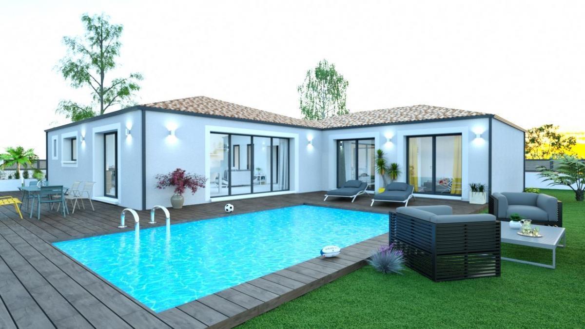 Maisons du constructeur MAISONS CEVI 26 • 105 m² • SAINT DONAT SUR L'HERBASSE
