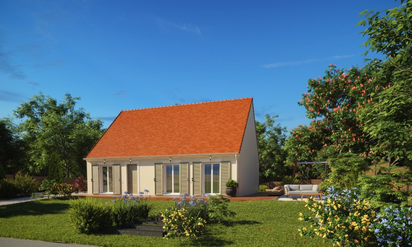 Maisons du constructeur MAISONS PIERRE SAINT NAZAIRE • 84 m² • SAINT NAZAIRE