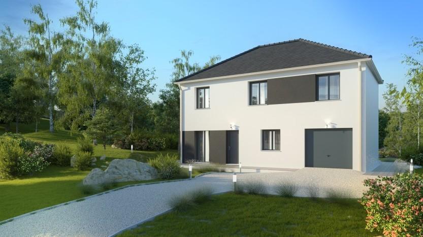 Maisons du constructeur MAISONS PIERRE SAINT NAZAIRE • 109 m² • PRINQUIAU