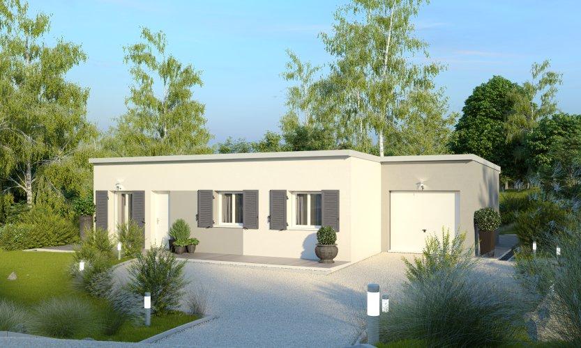 Maisons du constructeur MAISONS PIERRE SAINT NAZAIRE • 79 m² • TRIGNAC