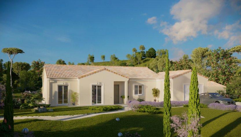 Maisons du constructeur MAISONS PIERRE SAINT NAZAIRE • 103 m² • SAINT NAZAIRE