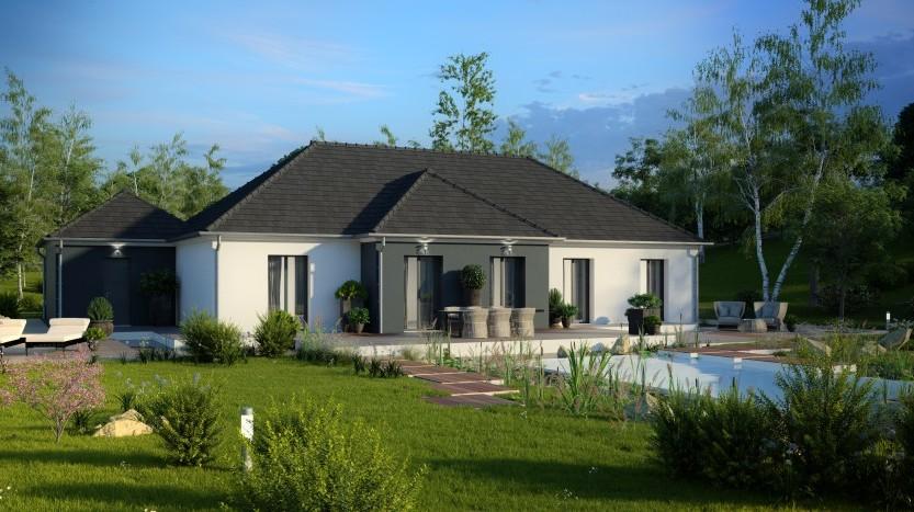 Maisons du constructeur MAISONS PIERRE SAINT NAZAIRE • 132 m² • LA BAULE ESCOUBLAC