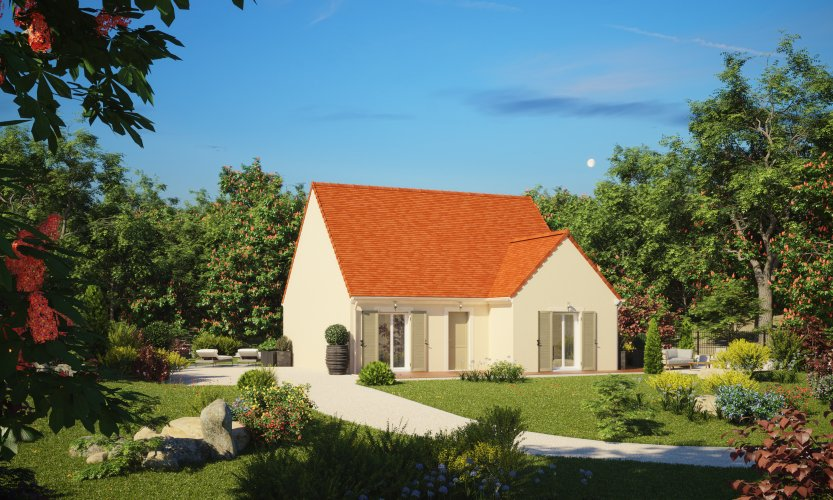 Maisons du constructeur MAISONS PIERRE SAINT NAZAIRE • 77 m² • MISSILLAC
