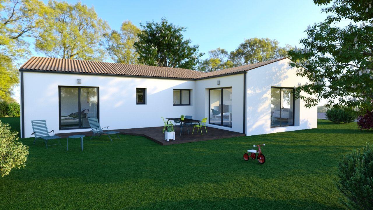 Maisons du constructeur SOLIS CONSTRUCTION - AGENCE DE CHATELAILLON PLAGE • 105 m² • SAINTES