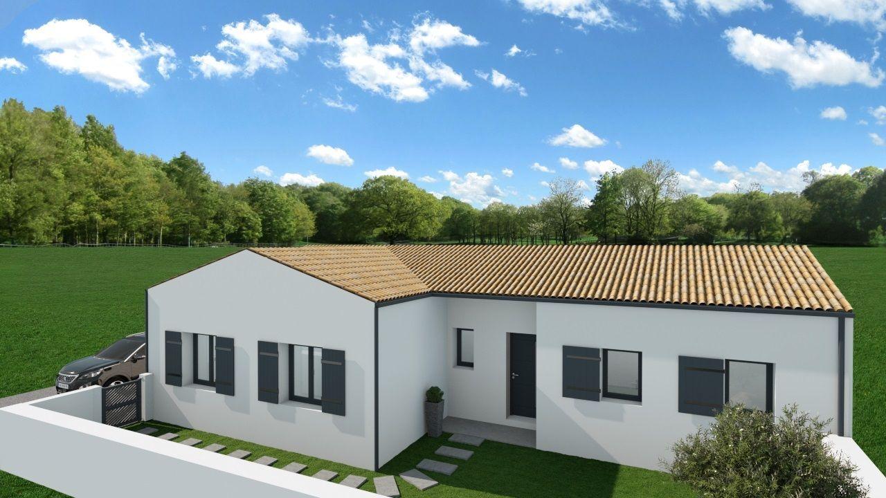 Maisons du constructeur SOLIS CONSTRUCTION - AGENCE DE CHATELAILLON PLAGE • 109 m² • LA CHAPELLE DES POTS
