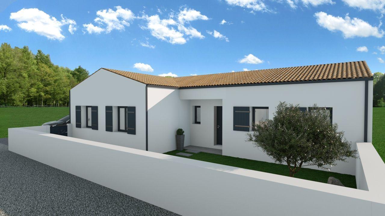 Maisons du constructeur SOLIS CONSTRUCTION - AGENCE DE CHATELAILLON PLAGE • 109 m² • SAINT PORCHAIRE