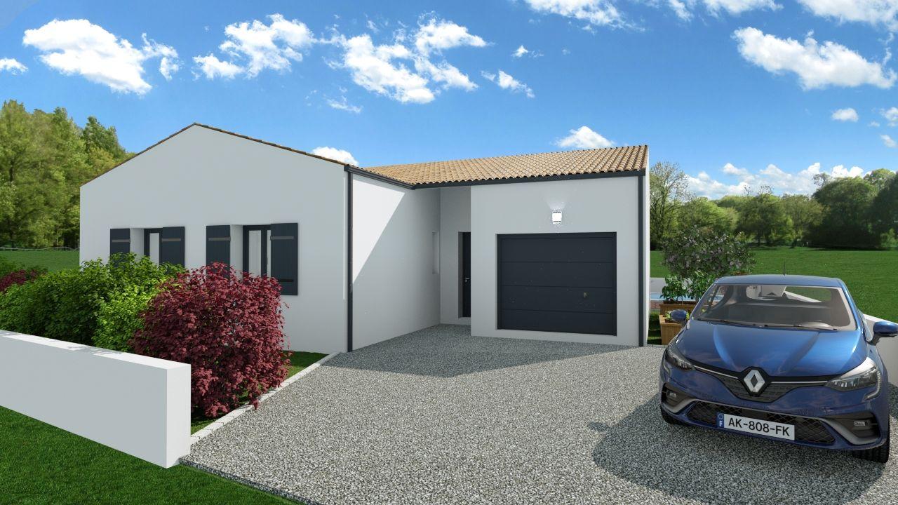 Maisons du constructeur SOLIS CONSTRUCTION - AGENCE DE CHATELAILLON PLAGE • 100 m² • SAINTES