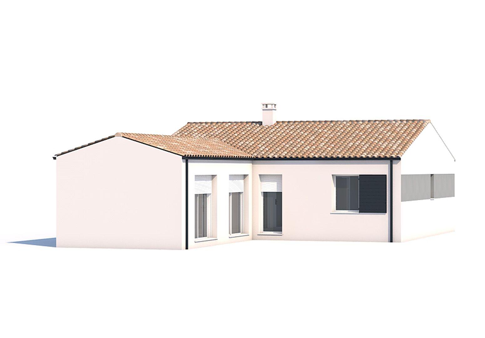 Maisons du constructeur SOLIS CONSTRUCTION - AGENCE DE CHATELAILLON PLAGE • 88 m² • SAINT ROMAIN DE BENET