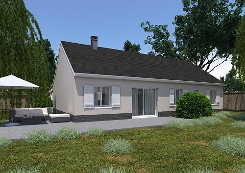 Maisons + Terrains du constructeur RESIDENCES PICARDES PERONNE • 97 m² • ESTREES MONS