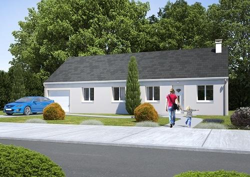Maisons + Terrains du constructeur RESIDENCES PICARDES PERONNE • 95 m² • NESLE