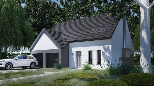Maisons + Terrains du constructeur RESIDENCES PICARDES • 102 m² • TROSLY BREUIL