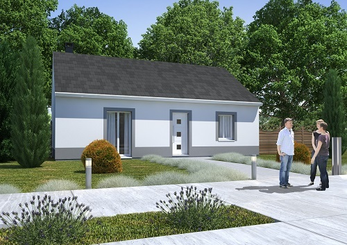 Maisons + Terrains du constructeur RESIDENCES PICARDES QUEVAUVILLERS • 68 m² • POIX DE PICARDIE