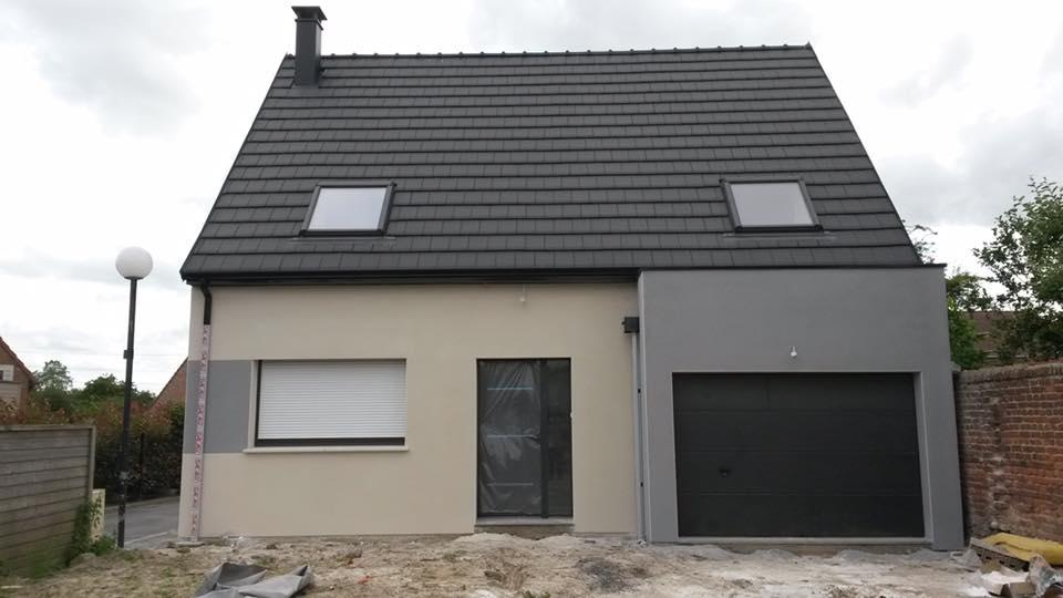 Maisons + Terrains du constructeur RESIDENCES PICARDES QUEVAUVILLERS • 85 m² • POIX DE PICARDIE