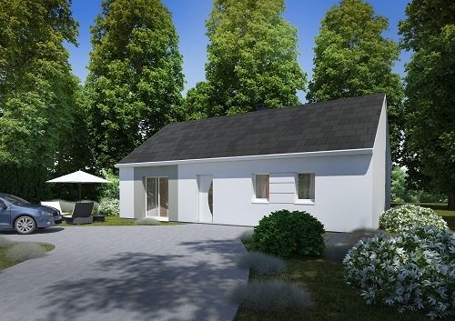 Maisons + Terrains du constructeur HABITAT CONCEPT - AGENCE DE DIEPPE • 85 m² • DIEPPE