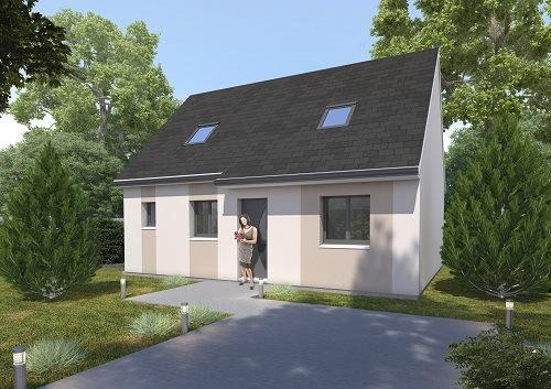 Maisons + Terrains du constructeur HABITAT CONCEPT STE MARIE DES CHAMPS • 69 m² • VALLIQUERVILLE
