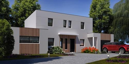 Maisons + Terrains du constructeur HABITAT CONCEPT EVREUX • 149 m² • HOULBEC COCHEREL