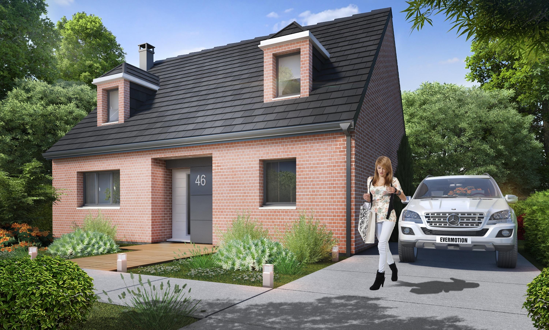 Maisons + Terrains du constructeur HABITAT CONCEPT EVREUX • 110 m² • PACY SUR EURE