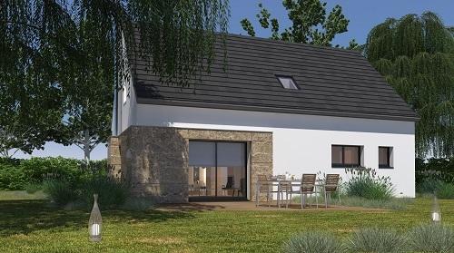 Maisons + Terrains du constructeur HABITAT CONCEPT ST ROMAIN DE COLBOSC • 102 m² • NOTRE DAME DU BEC