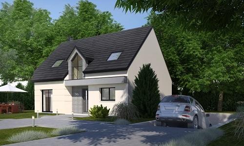 Maisons + Terrains du constructeur HABITAT CONCEPT ST ROMAIN DE COLBOSC • 123 m² • SAINT ROMAIN DE COLBOSC