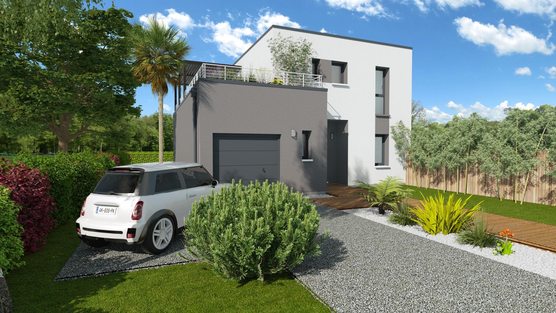 Maisons + Terrains du constructeur LES DEMEURES DE LA COTE D'ARGENT • 115 m² • PARENTIS EN BORN