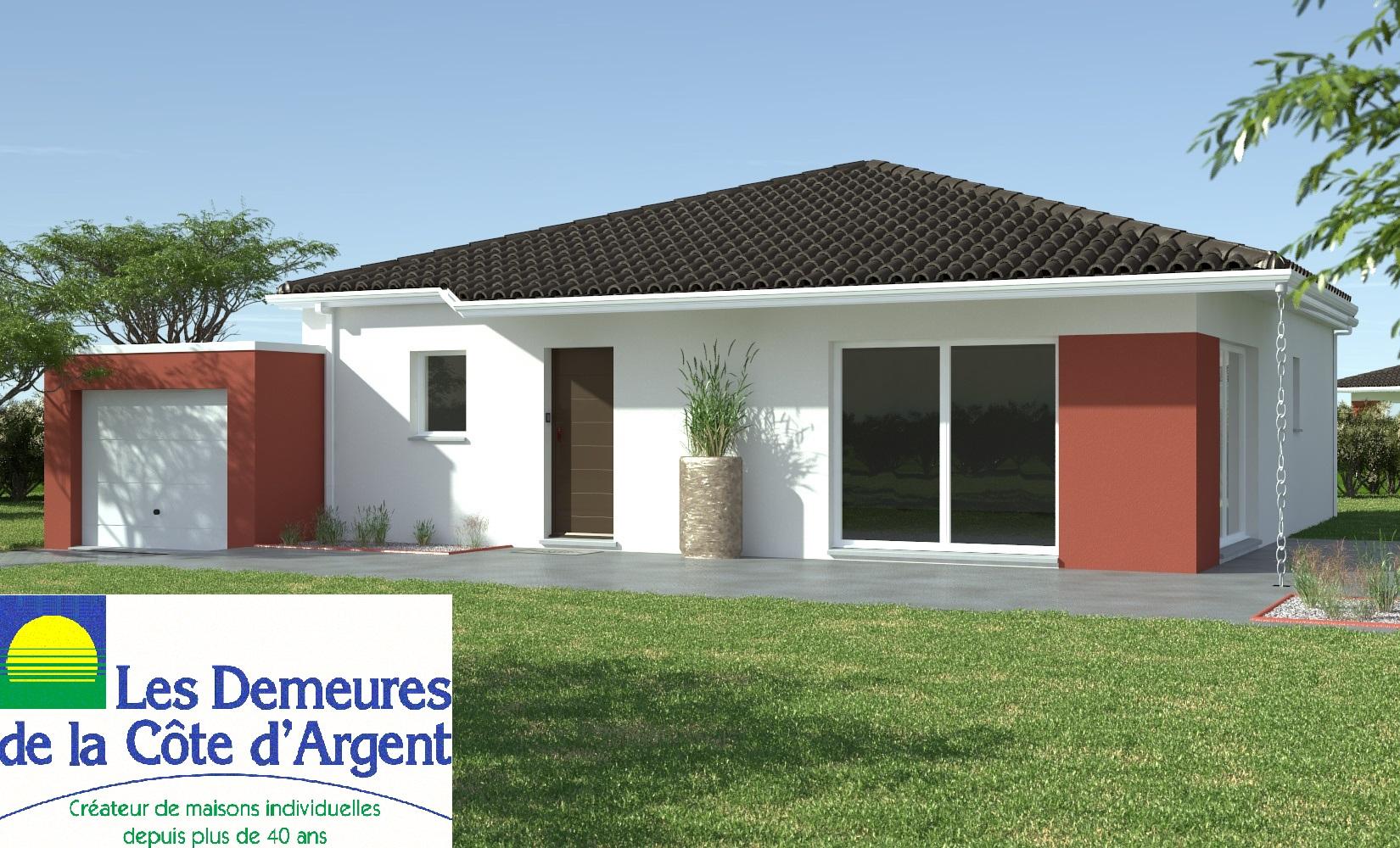 Maisons + Terrains du constructeur LES DEMEURES DE LA COTE D'ARGENT • 117 m² • SOLFERINO