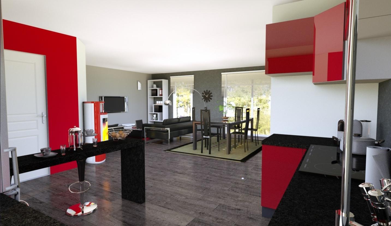 Maisons + Terrains du constructeur LES DEMEURES DE LA COTE D'ARGENT • 80 m² • PARENTIS EN BORN