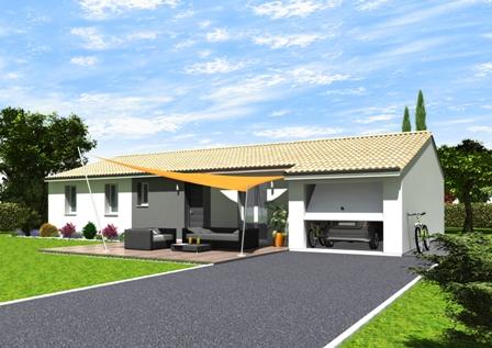 Maisons + Terrains du constructeur LES DEMEURES DE LA COTE D'ARGENT • 97 m² • PARENTIS EN BORN