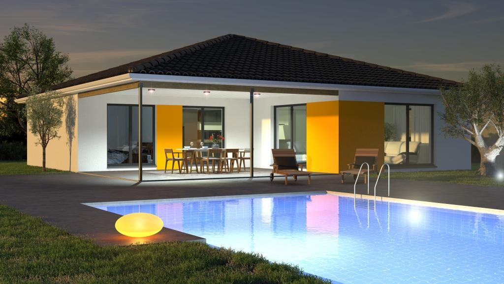 Maisons + Terrains du constructeur LES DEMEURES DE LA COTE D'ARGENT • 97 m² • SAINTE EULALIE EN BORN