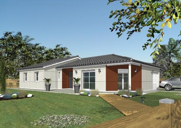 Maisons + Terrains du constructeur LES DEMEURES DE LA COTE D'ARGENT • 120 m² • LIPOSTHEY