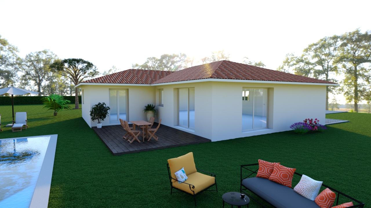 Maisons + Terrains du constructeur Les demeures de la côte d Argent • 110 m² • SAINTE EULALIE EN BORN