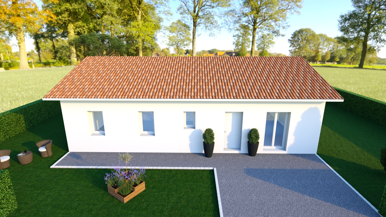 Maisons du constructeur Les demeures de la côte d Argent • 88 m² • LIPOSTHEY