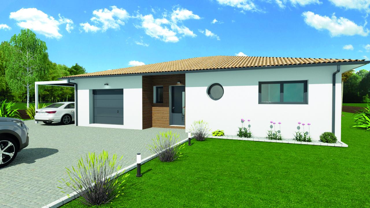 Maisons du constructeur Les demeures de la côte d Argent • 83 m² • PISSOS