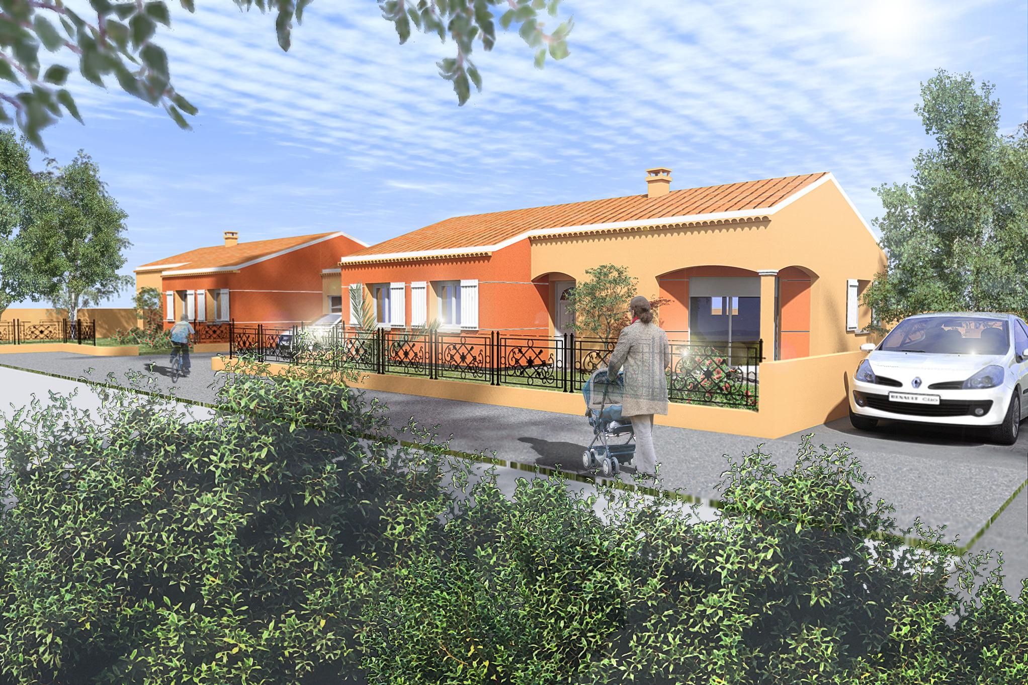 Maisons + Terrains du constructeur MAISON DU DAUPHINE • 75 m² • ROMANS SUR ISERE