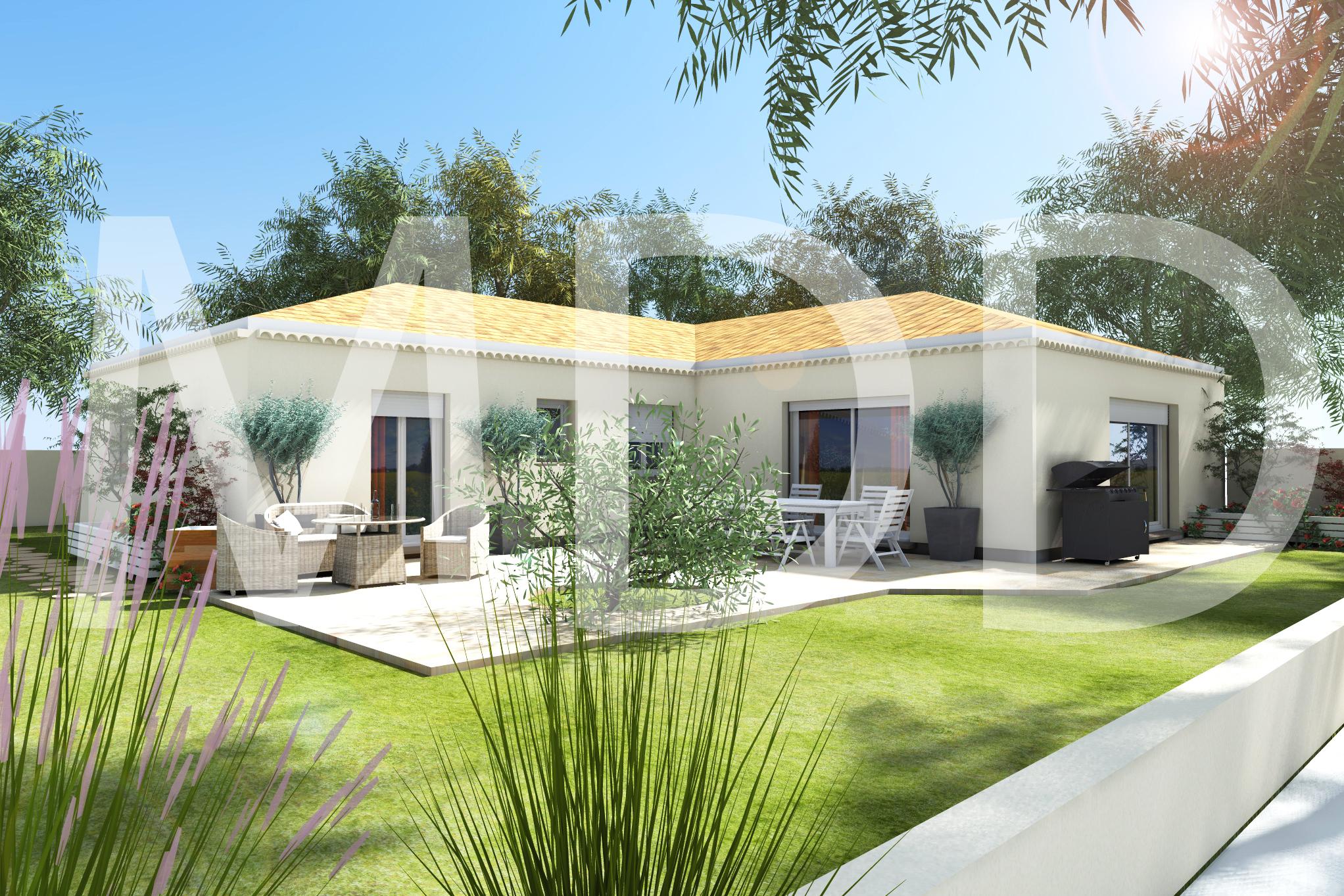 Maisons du constructeur MAISON DU DAUPHINE • 95 m² • SAINT LAURENT D'ONAY