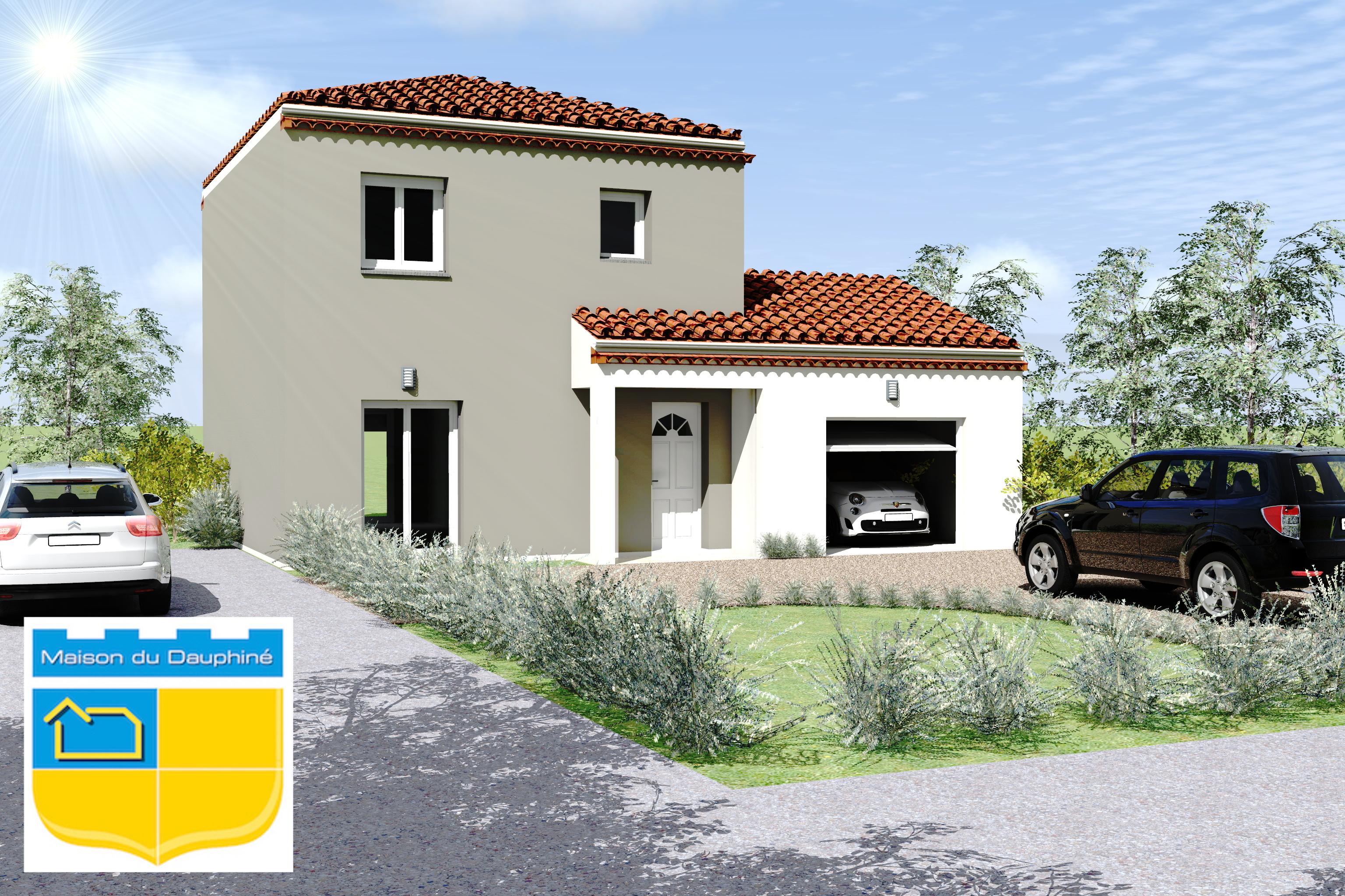 Maisons du constructeur MAISON DU DAUPHINE • 80 m² • UPIE