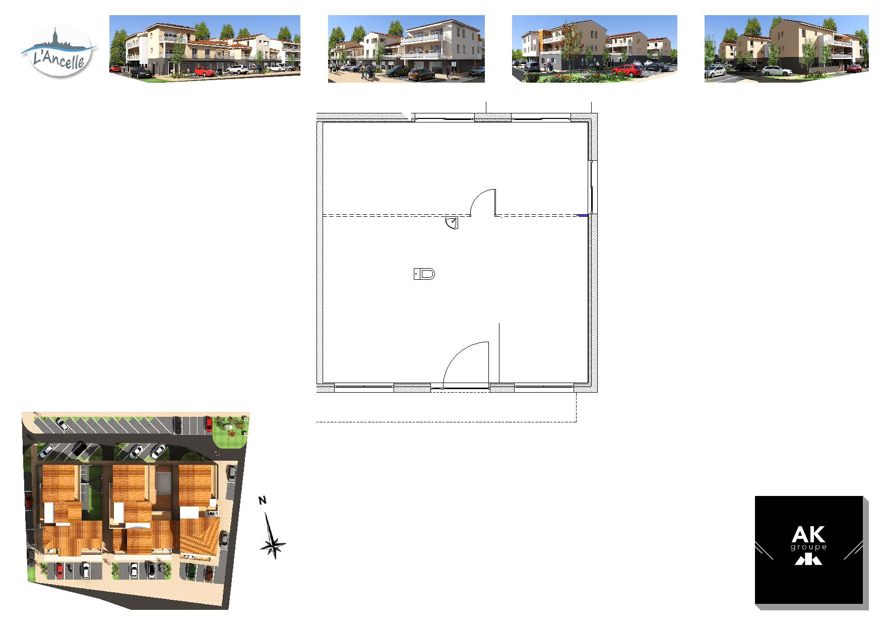 Maisons du constructeur MAISON DU DAUPHINE • 79 m² • CLEON D'ANDRAN