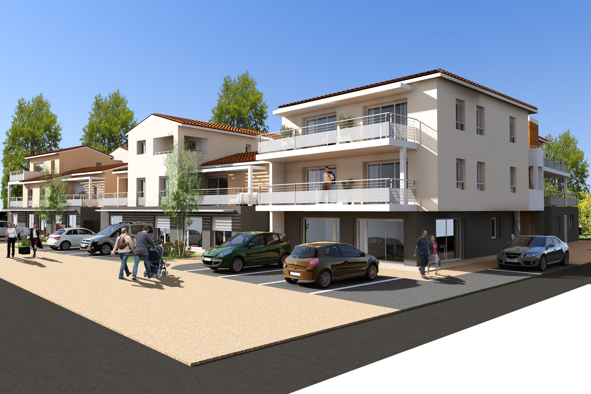 Maisons du constructeur MAISON DU DAUPHINE • 215 m² • CLEON D'ANDRAN