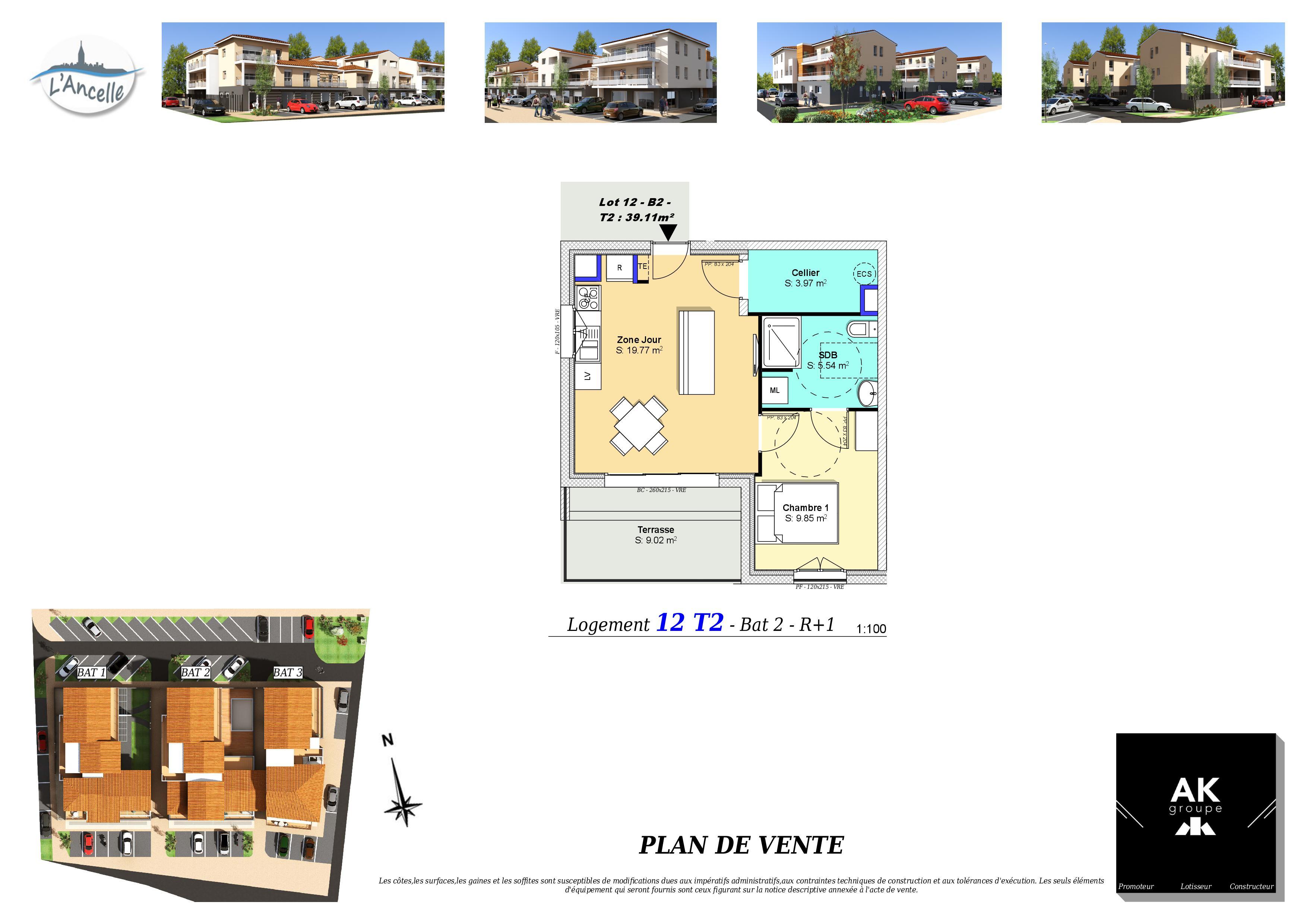 Maisons du constructeur MAISON DU DAUPHINE • 40 m² • CLEON D'ANDRAN