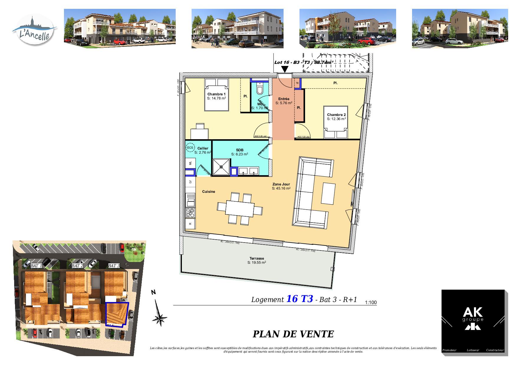 Maisons du constructeur MAISON DU DAUPHINE • 89 m² • CLEON D'ANDRAN